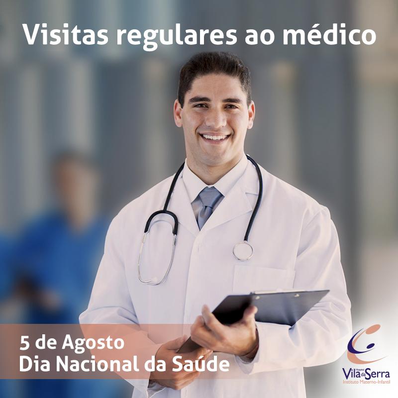 Facebook - HVS - 5 de Agosto Consulta ao Médico