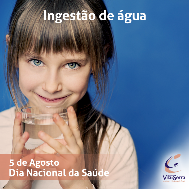 Facebook - HVS - 5 de Agosto Ingestão de água