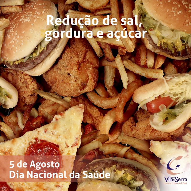 Facebook - HVS - 5 de Agosto redução de sal e gordura