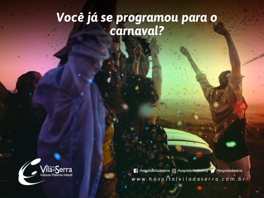 Você já se programou para o carnaval