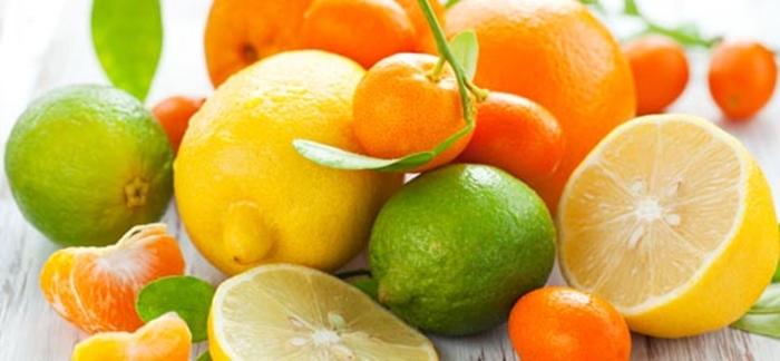 frutas citricas
